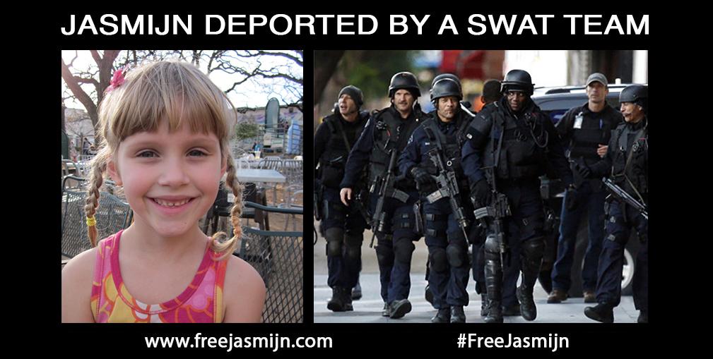 swat team child deportation